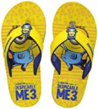 Minions Boy's Yellow Flip-Flops and House Slippers - 2 UK/India (34 EU)