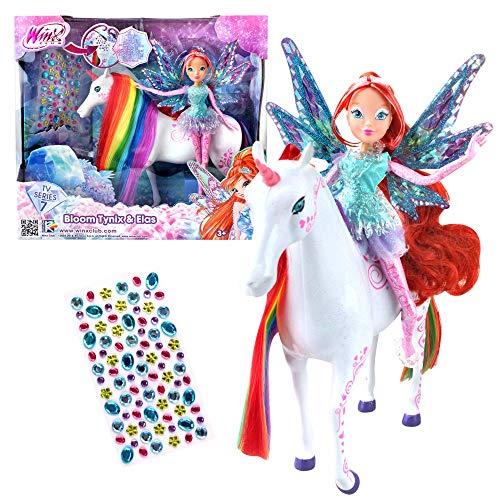 899d8bf2b4 Bloom & Unicorn Elas | Tynix Fairy Bambole | Winx Club usato Spedito  ovunque in Italia