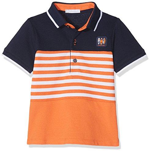 TUTTO PICCOLO Baby-Jungen Poloshirt 4843S18 Orange O00, 80 cm (Herstellergröße:18.M) Tutto Piccolo