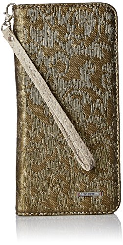 Lino Perros Women's Wallet (Green)  available at amazon for Rs.397