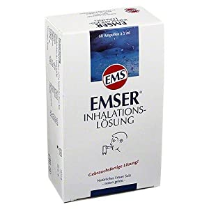 EMSER Inhalationslösung Ampullen 5ml,60St