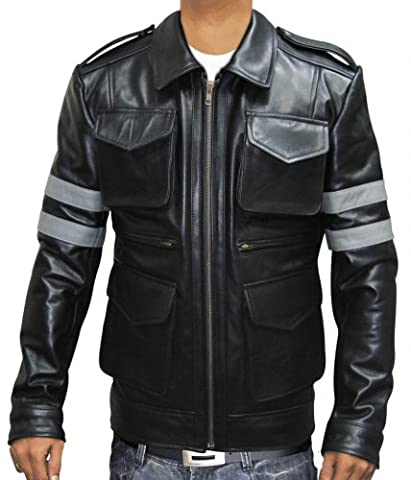Leon Kennedy Jacket Resident Evil 6 Game Leather Jacket (XL)