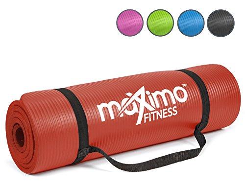Colchoneta-de-Ejercicios-de-Maximo-Fitness-Gran-Calidad-183cm-de-Longitud-x-60cm-de-Ancho-x-12cm-de-Grosor-Extra-Multiusos-Perfecta-para-realizar-Yoga-Pilates-Abdominales-y-Estiramientos-Garanta-de-po