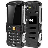 Generic AGM M1 Triple Proofing Phone, IP68 Waterproof Dustproof Shockproof, 2570mAh Battery, SC7701, Network: 3G, Dual SIM, FM, TF(Black)