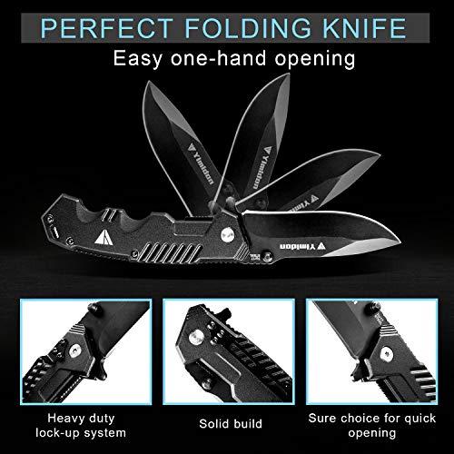 Zoom IMG-3 yimidon coltelli pieghevole coltello lama
