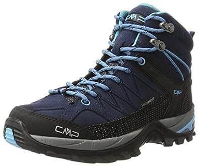 CMP Damen Rigel 3Q12946, Trekking- & Wanderhalbschuhe, Blau (B.Blue-Clorophilla), 36 EU