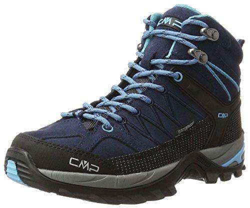 CMP Damen Rigel 3Q12946, Trekking- & Wanderhalbschuhe, Blau (B.Blue-Clorophilla), 39 EU