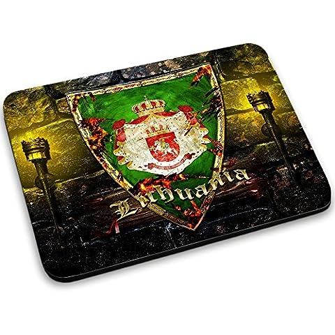 Escudo de armas colección 1, Custom adhesivo para MacBook piel de vinilo mangas de diferentes tamaños, neopreno, Coat of Arms Lithuania 1, Mouse Mat