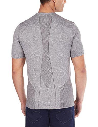 PUMA Herren T-Shirt PT Pure Tech SMLS Short Sleeve Tee Medium Gray Heather