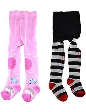 C&C KIDS Baby Thermostrumpfhosen,2 Pack,Baumwolle,Mädchen&Jungen