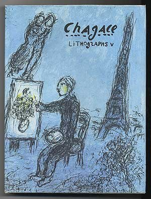 Chagall Lithograph (CHAGALL LITHOGRAPHS V by Charles Sorlier (1984-08-20))