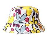 VRTUR Sonne Hut Drucken Blumen Eimer Lustig Sommer Urlaub Neuheit Strand Draussen Deckel Baseballmütze Baseball Cap Trucker Hat