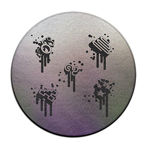 Elements Musik Note Schwarz Symbol Spot Nice Teppichreiniger Maschine für Pet Flecken ()