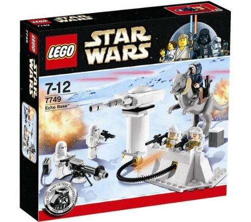 LEGO Star Wars 7749 - Echo Base (Han Solo Laser)