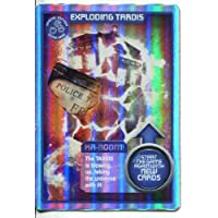 DOCTOR WHO MONSTER INVASION CCG ULTRA RARE CARD EXPLODING TARDIS