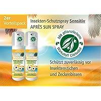 Plantacos Apres Sun Insekten-Schutzspray Sensitiv - 2er Vorteilspack - Mit pflanzlichem Wirkstoff - Schützt zuverlässig... preisvergleich bei billige-tabletten.eu