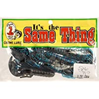 Creme Lure Co. Black/Blue Same Thing Craw 6 Per Pack