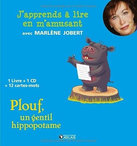 Plouf, un gentil hippopotame (1CD audio)