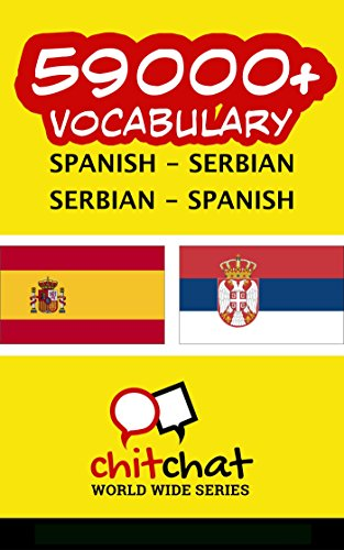 59000+ Spanish - Serbian Serbian - Spanish Vocabulary