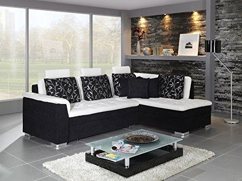 Divano Letto Bianco E Nero : Divani in pelle angolari idee di design per la casa rustify