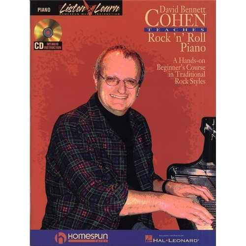 David Bennett Cohen Teaches Rock 'n' Roll Piano. CD, Sheet Music for Piano Solo