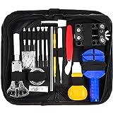 HBlife Montre Kit Outils de Réparation Professionnel d'Horlogerie Watch Tool Kits de Réparation Trousse d'Outils Montre