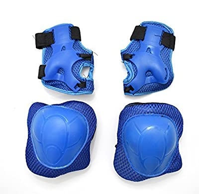 Kids Knee Elbow Wrist Protective Pad Guard Set For Roller Skating Skateboard Cycling by DNA LEISURE