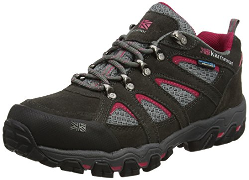 Karrimor Bodmin Low 5 Ladies Weathertite Uk 4h, Scarpe da Arrampicata Donna Grigio (Dark Grey)