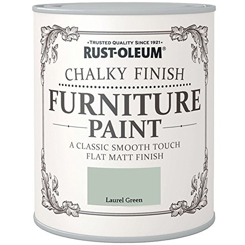 Rust-Oleum Chalk Chalky Furniture Paint Laurel Green 750ML by Rustoleum