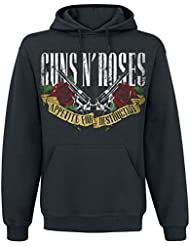 Guns N' Roses Appetite For Destruction - Banner Sudadera con capucha Negro