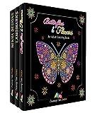 Creatively Calm Studios Adulto libro para colorear conjunto con 120 patrones únicos, 3-paquete