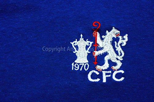 Chelsea FC eine 45,7x 30,5cm Fotografieren Fotodruck Chelsea Football Club 1970FA Cup Shirt Badge Logo Club Crest Landschaft Foto Farbe Bild Fine Art Print Fotografie Durch Andy Evans Fotos -