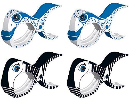 tuuli-summer-clips-2-black-2-fish-multipurpose-peg-beach-quilt-towel-camping-garden-kite-surf-sunbed