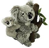 Koala mit Baby Plüschtier Kuscheltier Stofftier 118 von Zaloop