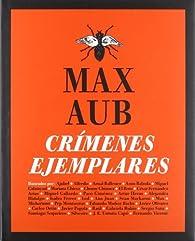 Crímenes ejemplares par Max Aub