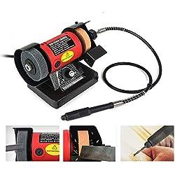 Banc Polyvalence Grinder, 220 V 150W Scie à table de meulage de polissage de coupe pour le bois Machines Grinder Outils électriques Métal
