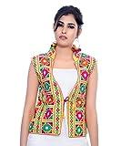 #3: Banjara India Kutchi Waist Jacket (Bharchak) - Yellow