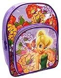 Disney Fairies Fée Clochette Lilas Sac d'école Sac à dos Sac à dos avec poche...