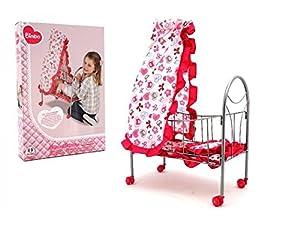 Globo Toys Globo-37377Bimbo Canopy Cama para muñeca