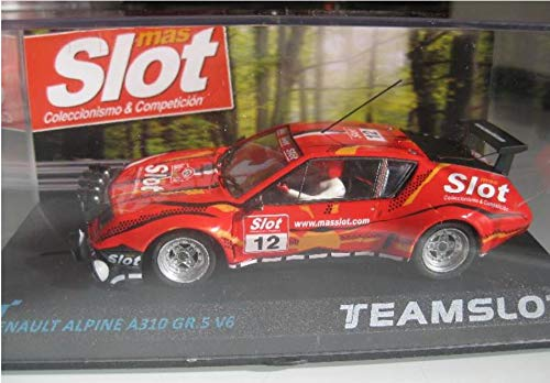 EXIN, FLY CAR MODELS SCALEXTRIC MAS Slot Renault Alpine