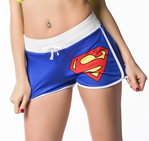 Cody Lundin® Damen Sport Fitness Running Yoga Kurze Hose Womens Bewegung Hot Pants The Superheld Short Pants