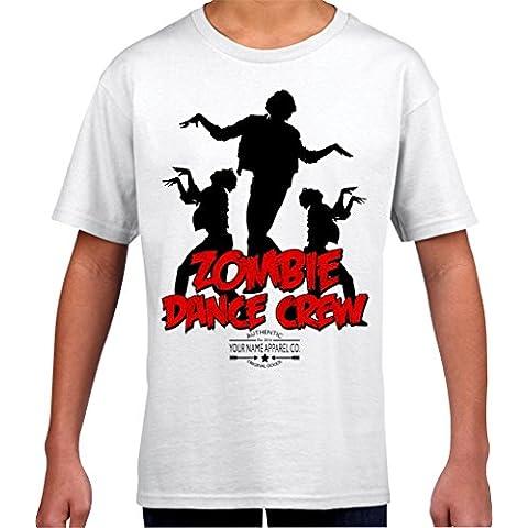 Zombie Kids Ali Dance Crew-Maglietta da ragazzo, colore: menta