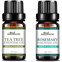 Satthwa Tea Tree Oil & Rosemary Essential Oil Combo (30 ml)