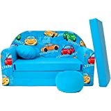 B11+ niños Bar Dormir emergente sofá sofá sofá Mini sofá 3en 1Baby Set +–Sillón infantil y asiento cojín + colchón