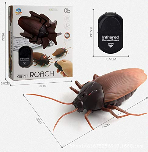 Mock-Fälschungs-Schabe-Spielzeug Halloween-Spinnen-Ant Prank Insekten Witz Scary Trick Spielzeug ()