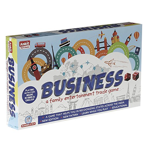 Ankit\'s Classic Business Board Game with Plastic Money