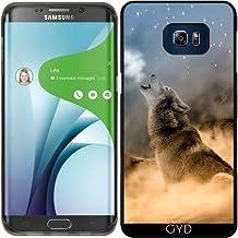 Funda de silicona para Samsung Galaxy S6 Edge Plus - Fauna Lobo Animal De La Fantasía by WonderfulDreamPicture