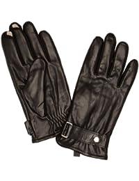 Isotoner Leather 5 Finger Smartouch Men's Gloves