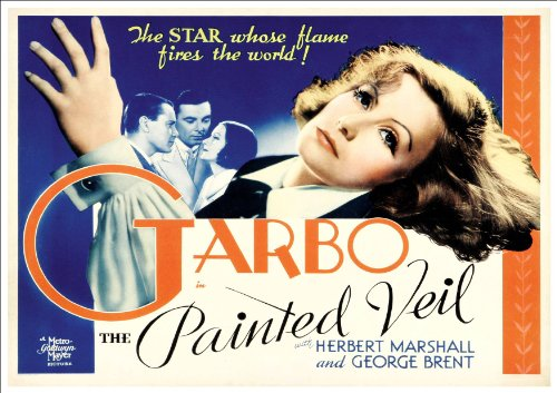 Fantastic A4 Glossy Print - 'The Painted Veil' (1934) - 1 - Taken From A Rare Vintage Movie / Film Poster (Vintage Movie / Film Posters)