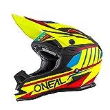 O'Neal 7Series MX Helm Chaser Neon Gelb Hi-Vis Motocross Enduro Offroad Quad Cross, 0578-20, Größe L (59/60 cm)